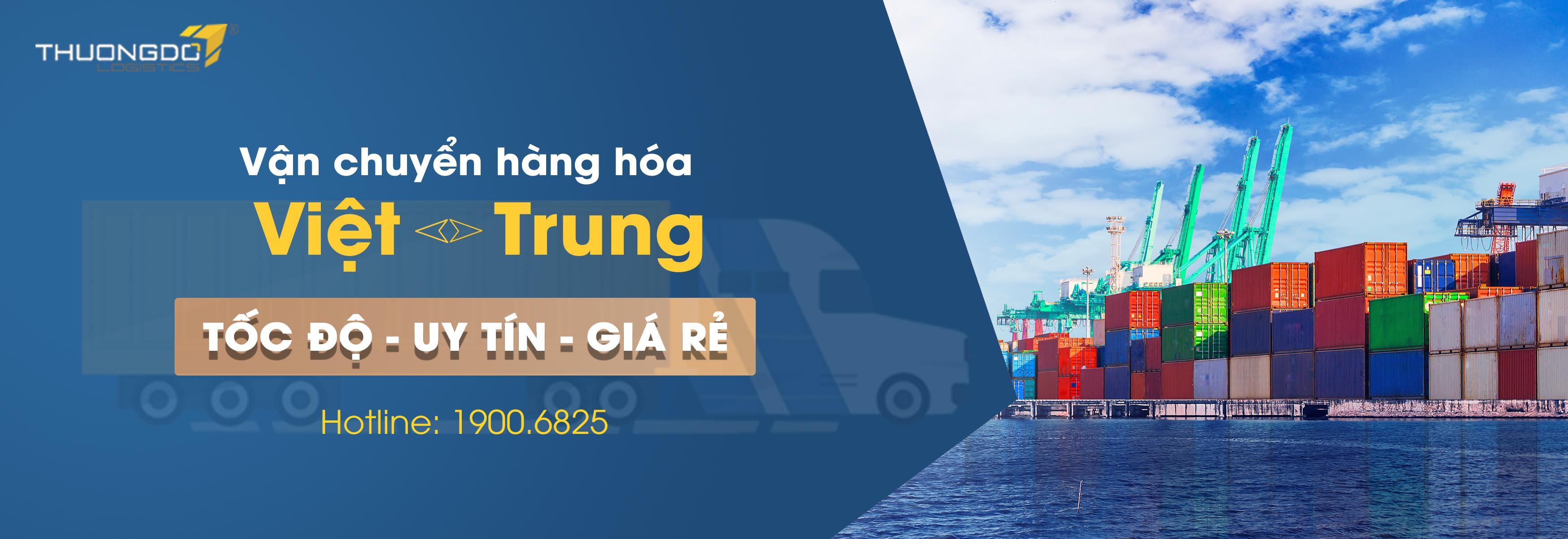 Vận chuyển hàng hóa hai chiều Việt - Trung
