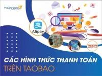Hướng dẫn thanh toán trên Taobao bằng Visa, Mastercard, Paypal, Alipay