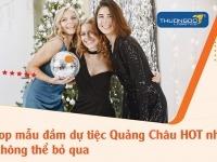 Những mẫu đầm dự tiệc Quảng Châu HOT các nàng không thể bỏ qua