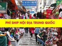 Giải đáp thắc mắc về phí ship nội địa Trung Quốc