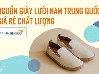 Nguồn giày lười nam Trung Quốc giá rẻ mẫu mã đẹp mắt chất lượng