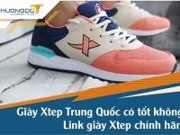 Giày Xtep Trung Quốc có tốt không? Link giày Xtep chính hãng