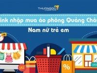 Link nhập mua áo phông Quảng Châu nam nữ trẻ em