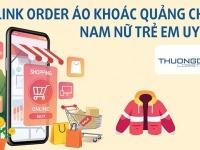 Link order áo khoác Quảng Châu nam nữ trẻ em