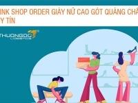 Link shop order giày nữ cao gót Quảng Châu uy tín