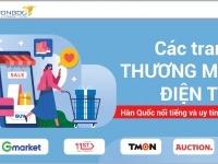 Top 4 trang thương mại điện tử Hàn Quốc nổi tiếng và uy tín nhất