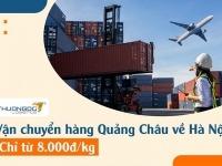 Dịch vụ vận chuyển hàng từ Trung Quốc về Hà Nội từ 8.000Đ/Kg