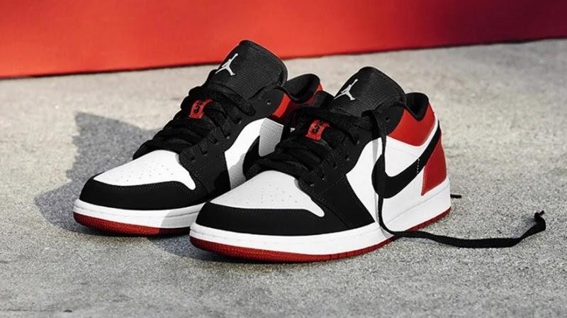 """Air Jordan 1 có lớp đệm """"Air"""" ở gót như giày Nike Air Force 1"""