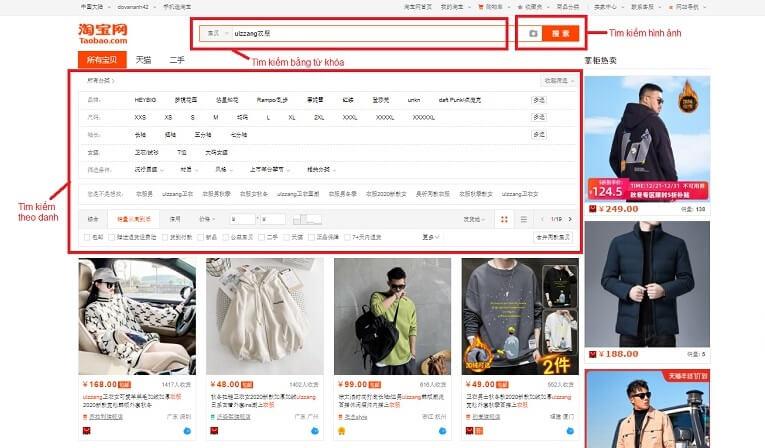 cách đăng nhập taobao