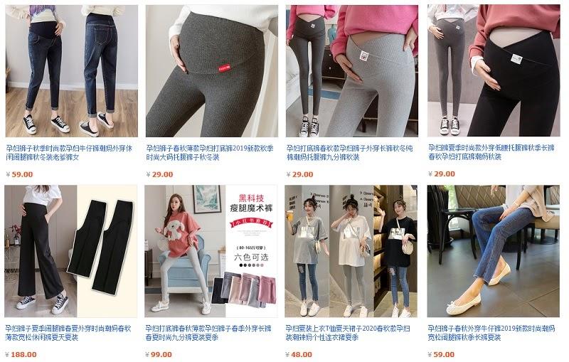 Đồ bộ bầu Taobao có giá thành rất rẻ, mà chất lượng cũng đảm bảo