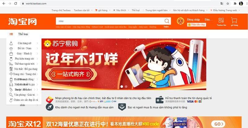 tìm hiểu về trang taobao